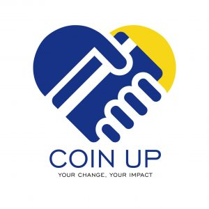 coin up logo stack